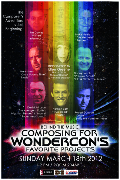 Wondercon: Top Composers Of TV's Hottest Shows Enthrall Fans