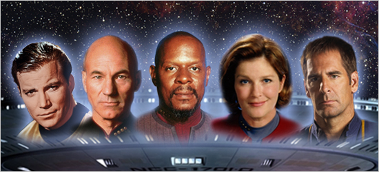 All Five Star Trek Captains Coming to London In October 2012