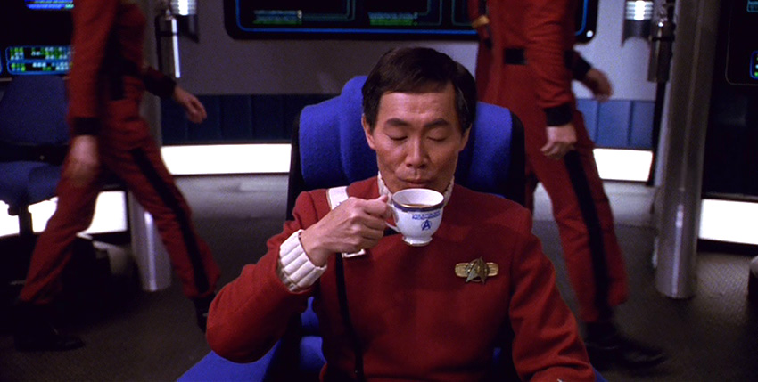 Fan favorite George Takei as Captain Sulu