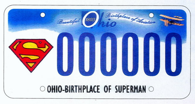 Superman Themed Ohio License Plate One Step Closer to Reality