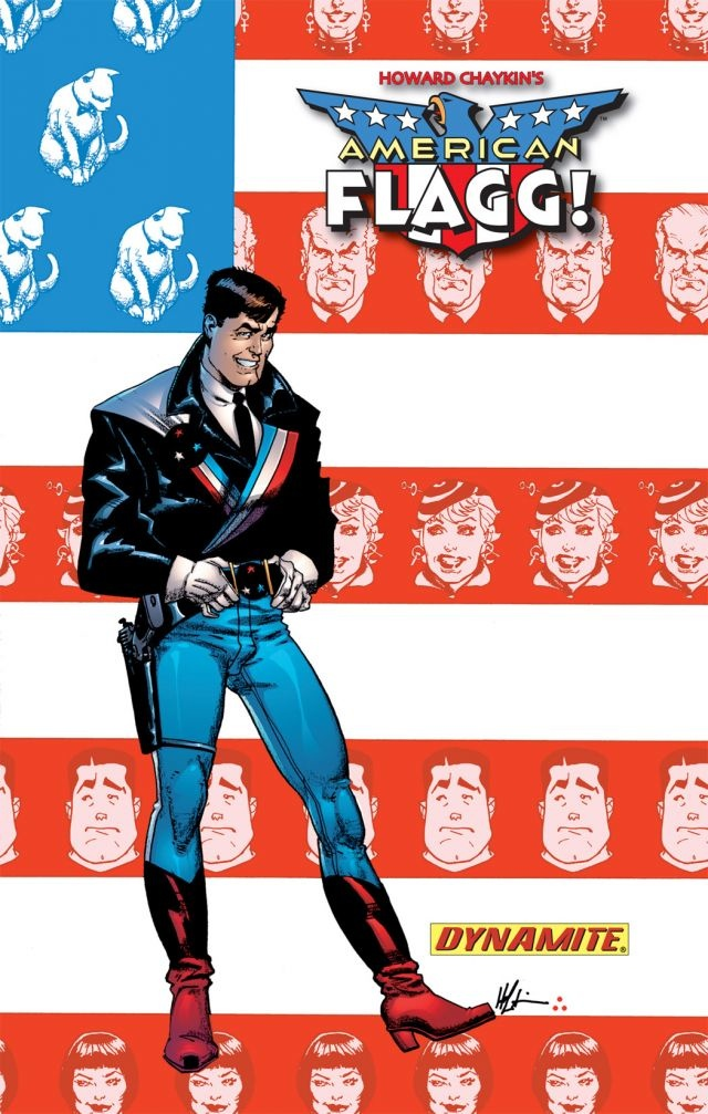 """Comic Series """"American Flagg"""" Now Available For Digital Media"""
