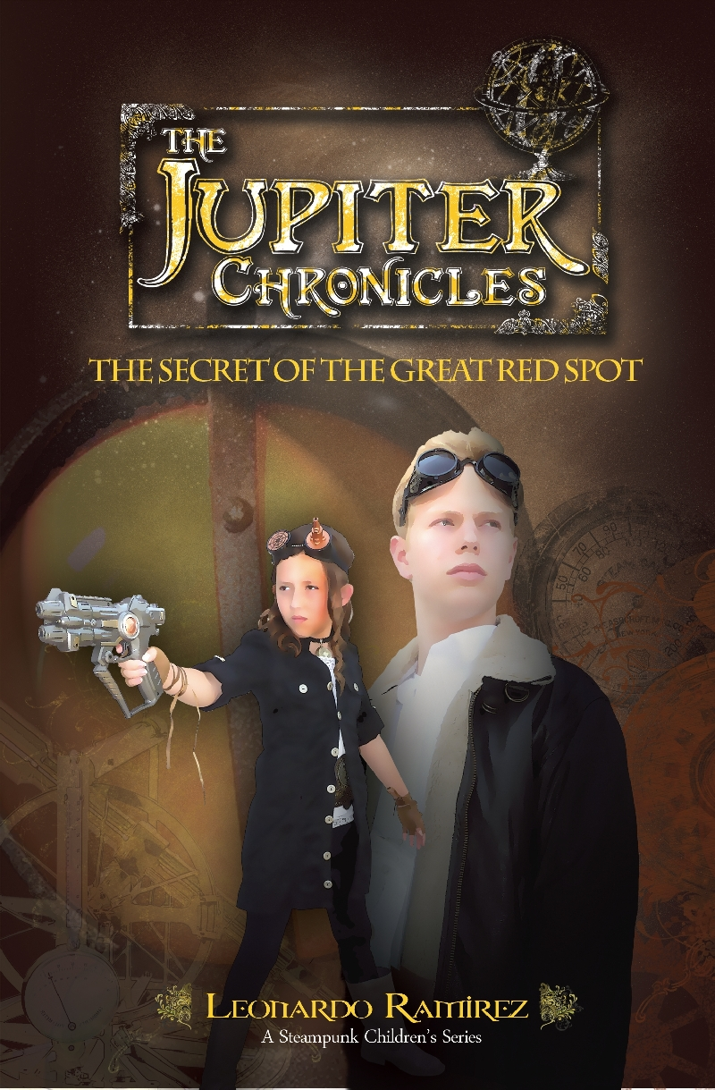 """Steampunk Children's Book Series """"The Jupiter Chronicles: The Secret of the Great Red Spot"""" Coming September 2012"""