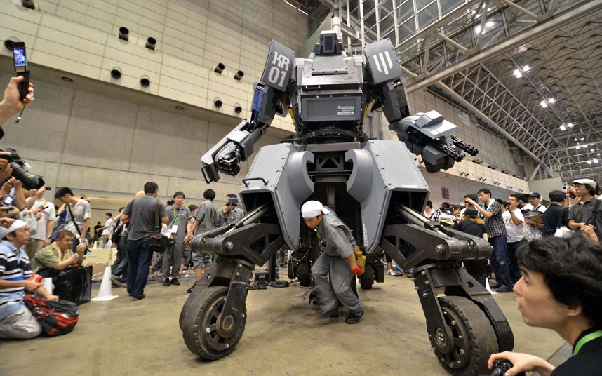 Say Hello To Kuratas, Drivable Giant Robot From Suidobashi Heavy Industry