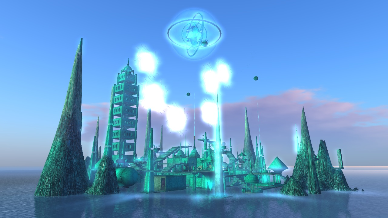 Pooky Amsterdam's 'Time Travellers' is machinema shot entirely in Second Life.