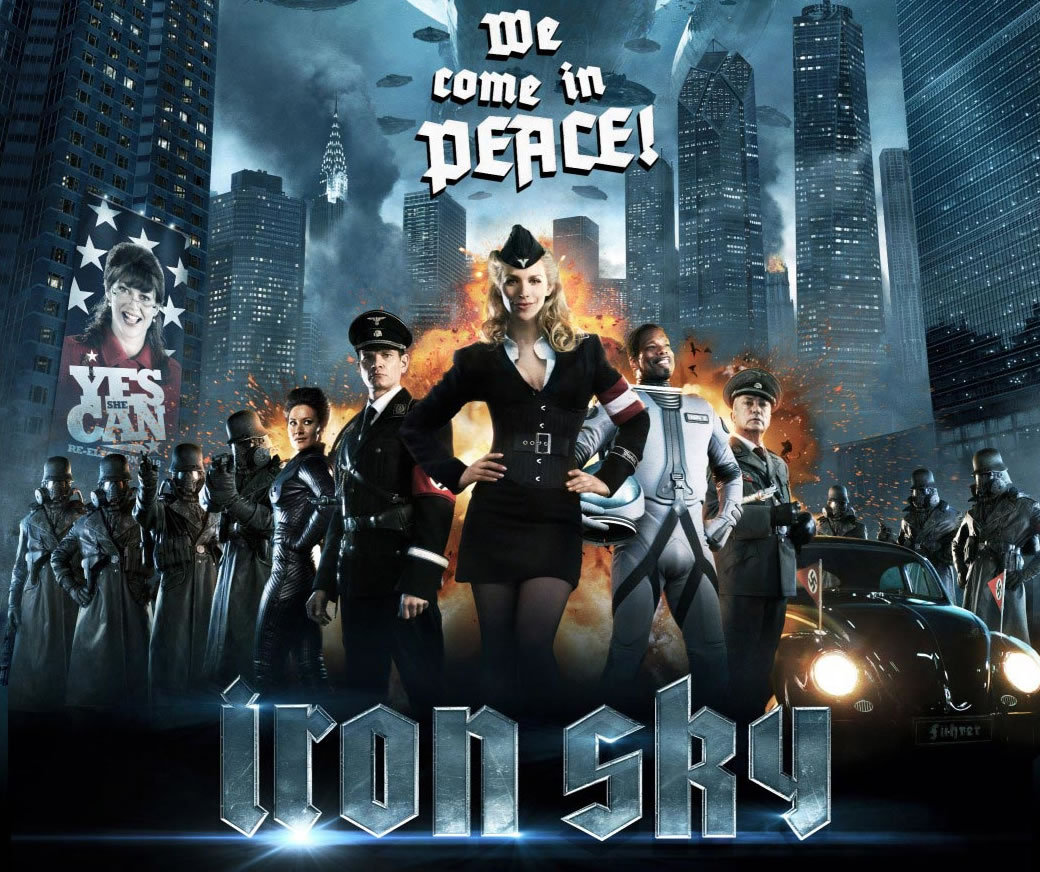 Movie Review: Space Nazis In 'Iron Sky'