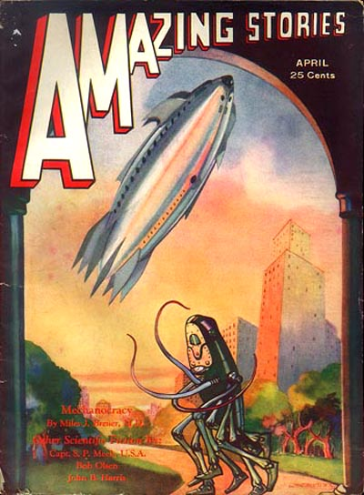 World's First SF Magazine 'Amazing Stories' Now Online