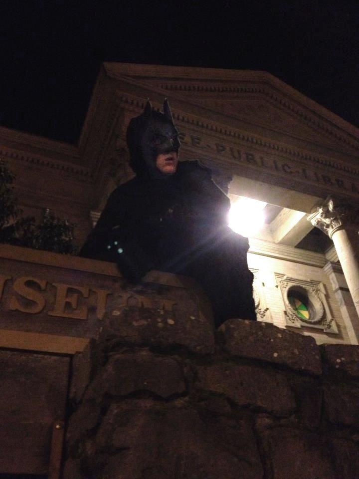 A Dark Knight Rises In Petaluma, California