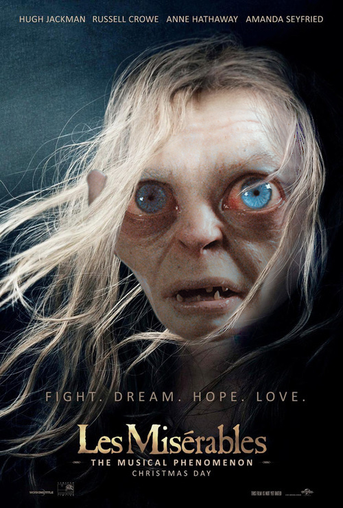 Video Of The Day: James Walters as Gollum Sings 'I Dreamed A Dream'