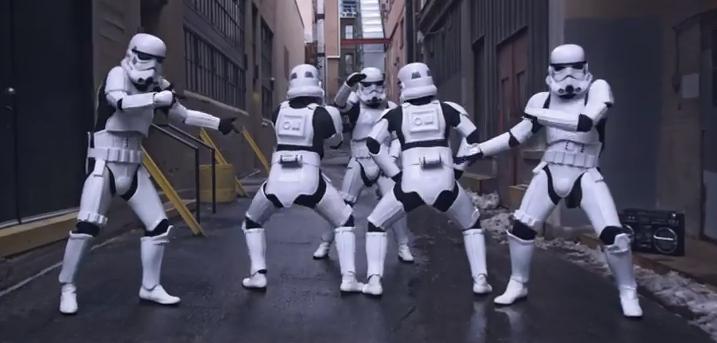 Video of the Day: Twerking Storm Troopers