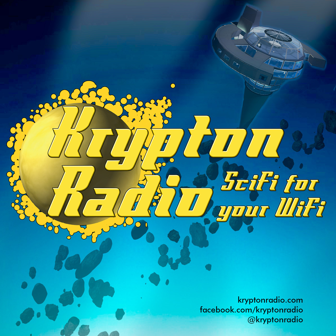 Krypton Radio logo