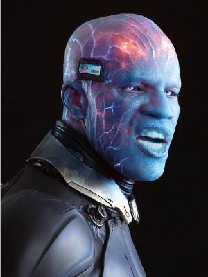 Electro's transformed look.