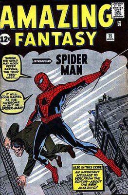 Amazing Fantasy 15 Spider-man