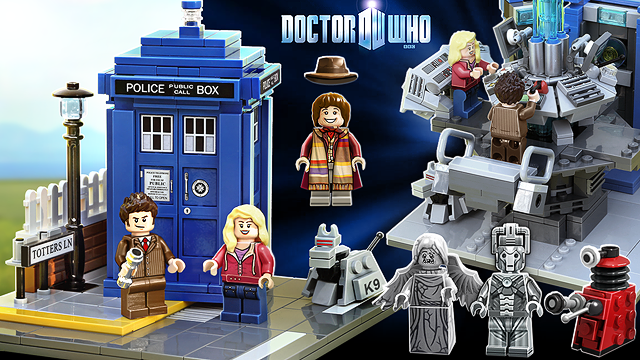 Lego 'Doctor Who' and 'Wall-E' Sets: It's On!