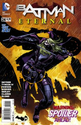 Written by Ray fawkes, Scott Snyder, and James Tynion IV Penciled by Andy Clarke