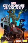 Poster for the animated Guardians of the Galaxy to premiere in 2015.