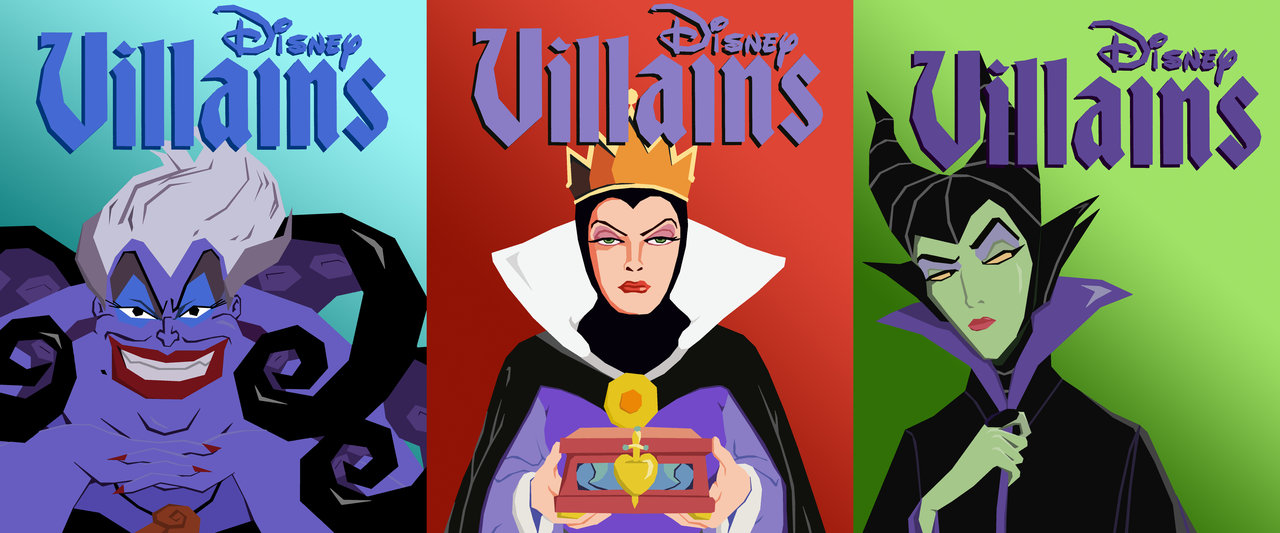 disney_vector_villains__the_ladies_by_tjjwelch-d5a22zx