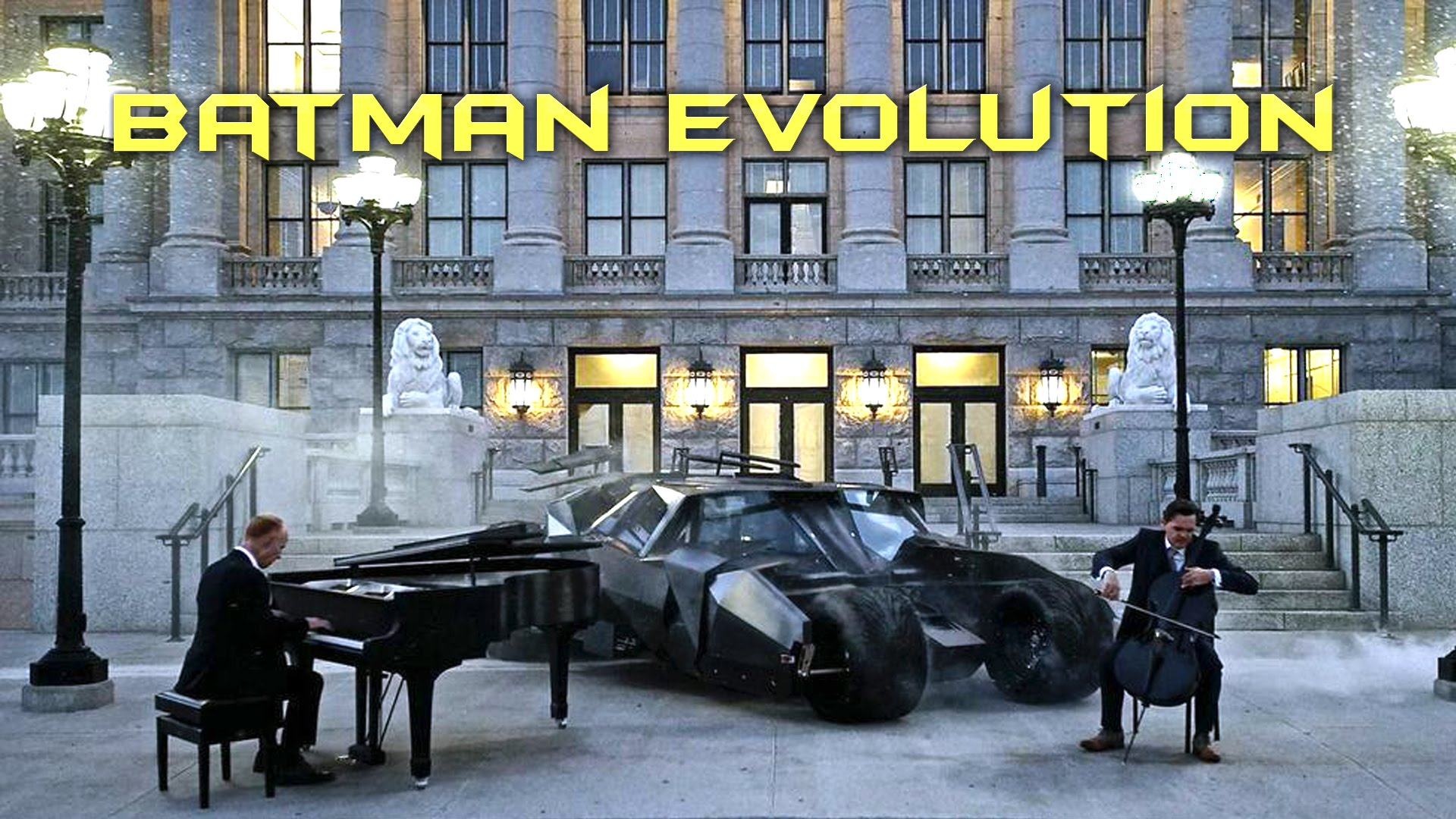 Video of the Day: The Piano Guys' 'Batman Evolution'