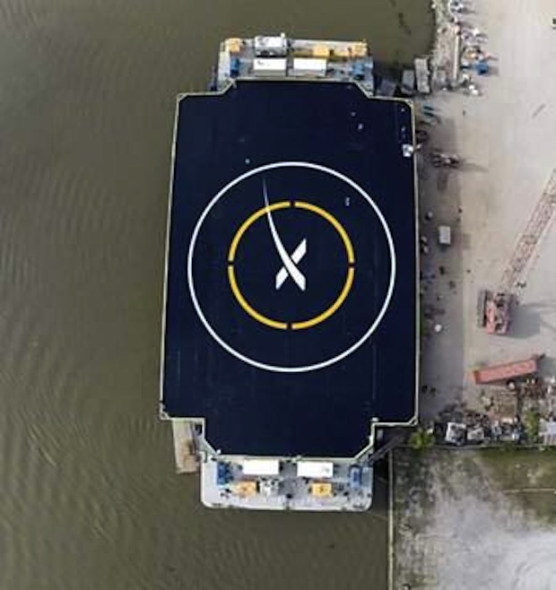 SpaceX Marks the Spot