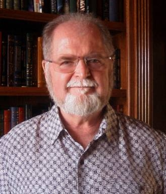 "Science fiction writer Larry Niven. Photo credit: Marilyn   Joyce ""Fuzzy Pink"" Niven"