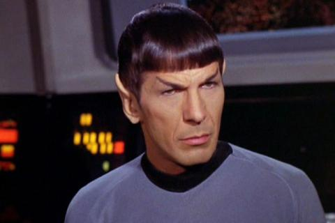Leonard Nimoy as Mr. Spock in 'Star Trek.'