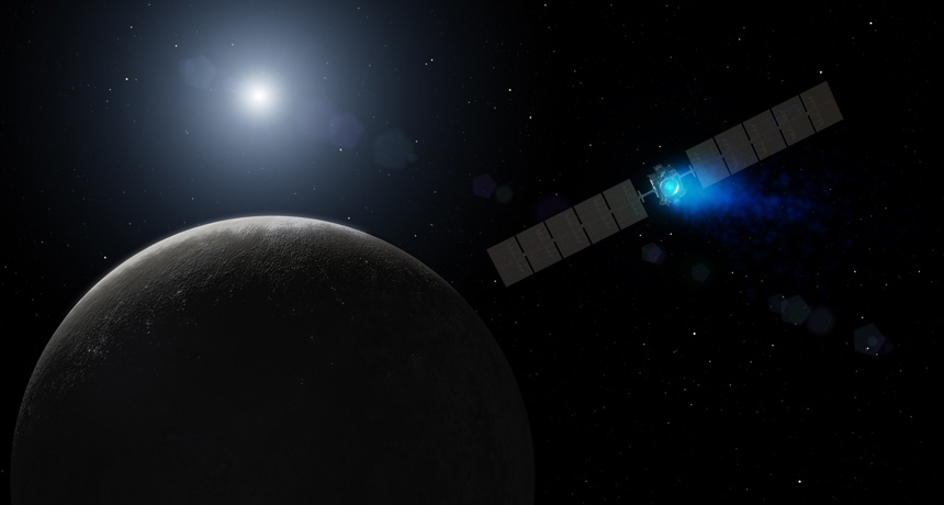 NASA Dawn Probe Enters Orbit Around Ceres