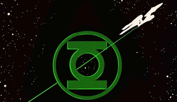 Epic Crossover Teams Enterprise Crew with Green Lantern Corps