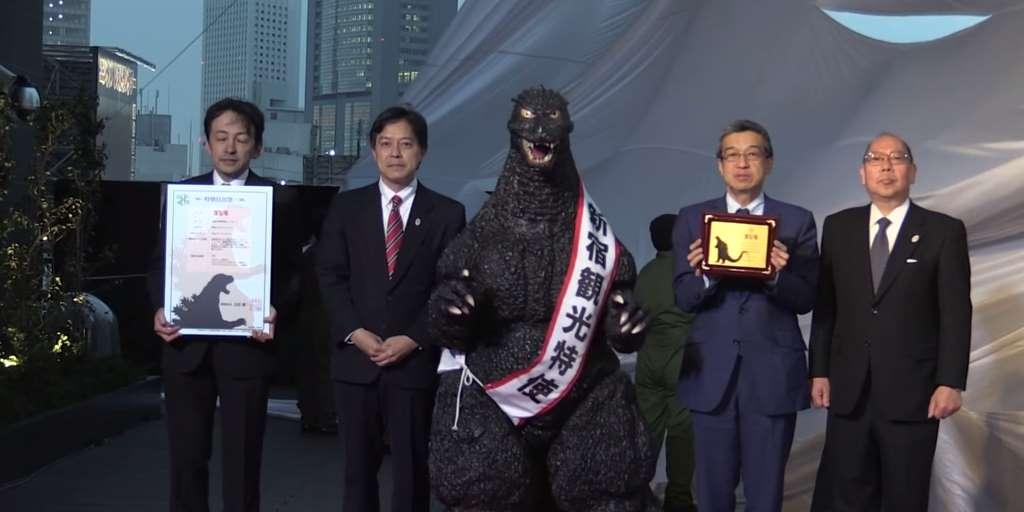 Godzilla Becomes Tourism Ambassador of Tokyo
