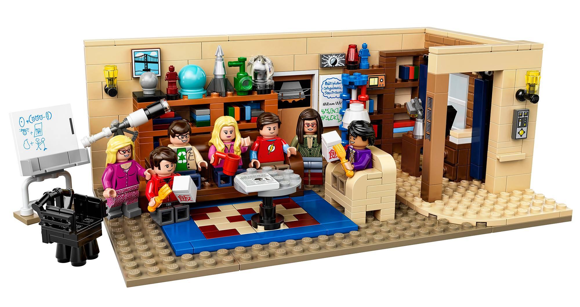 LEGO to Make 'Big Bang Theory' Set