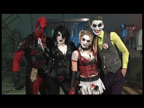 Video of the Day: Harley Quinn & Joker vs Domino & Deadpool