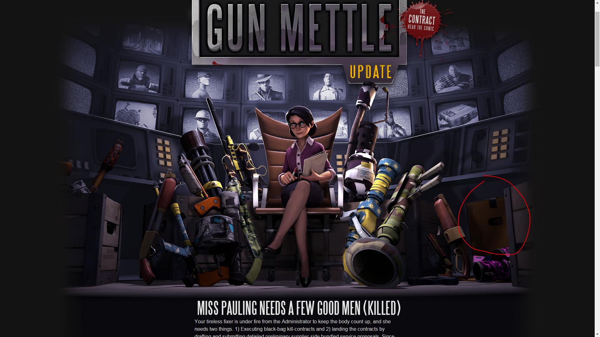 Team Fortress 2's Newest Update: 'Gun Mettle'