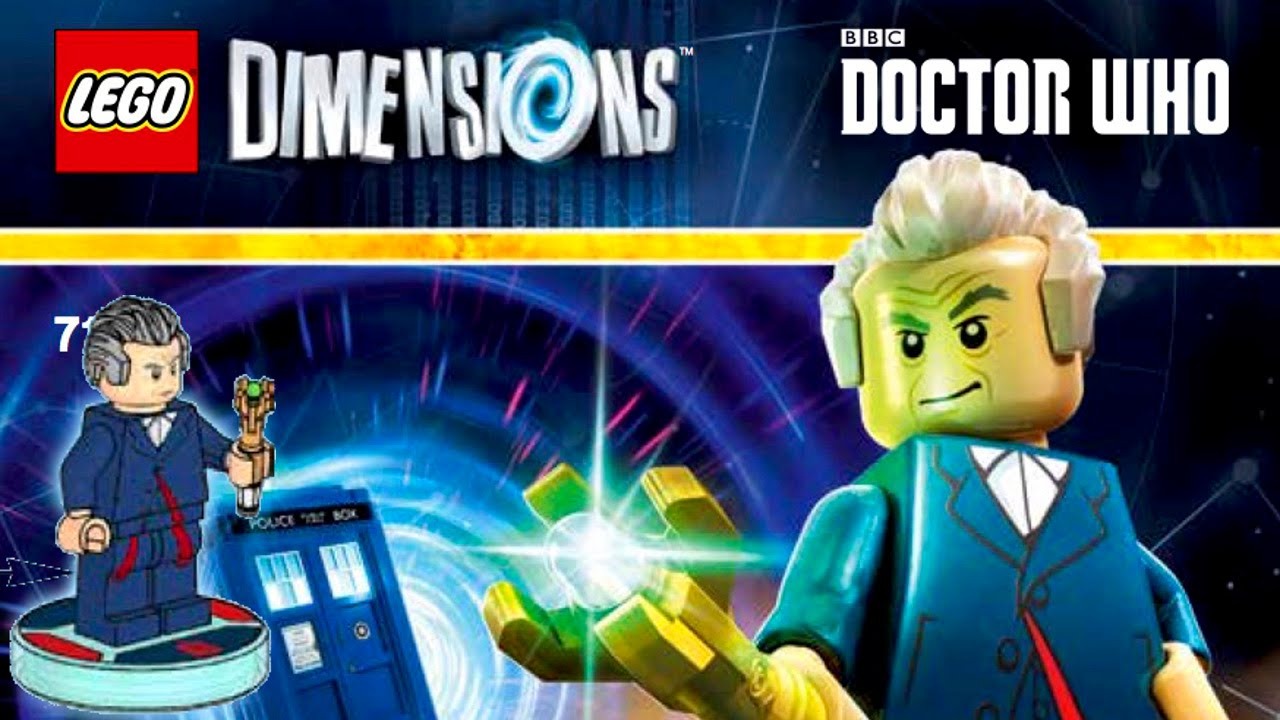 Doctor Who Joins LEGO Dimensions