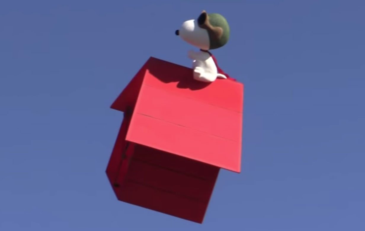 Snoopy to Buzz SDCC 2015 on Flying Doghouse