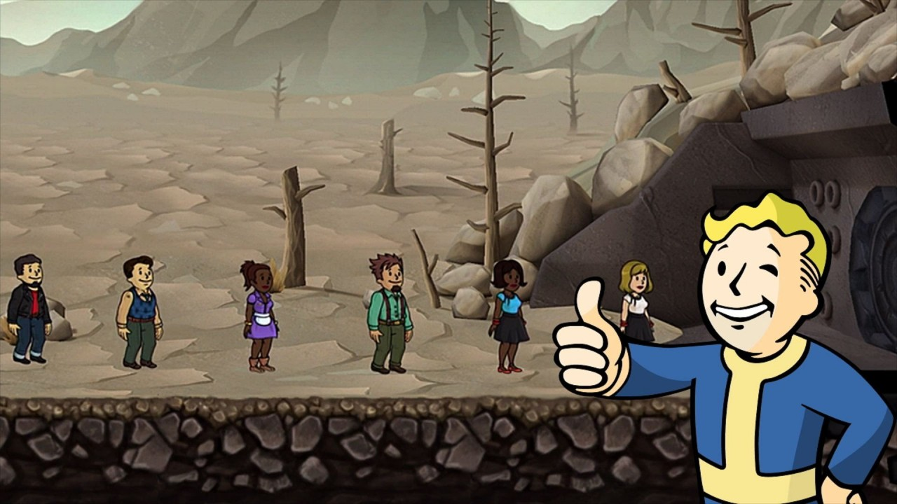 Bethesda's 'Fallout Shelter' Releases for Android