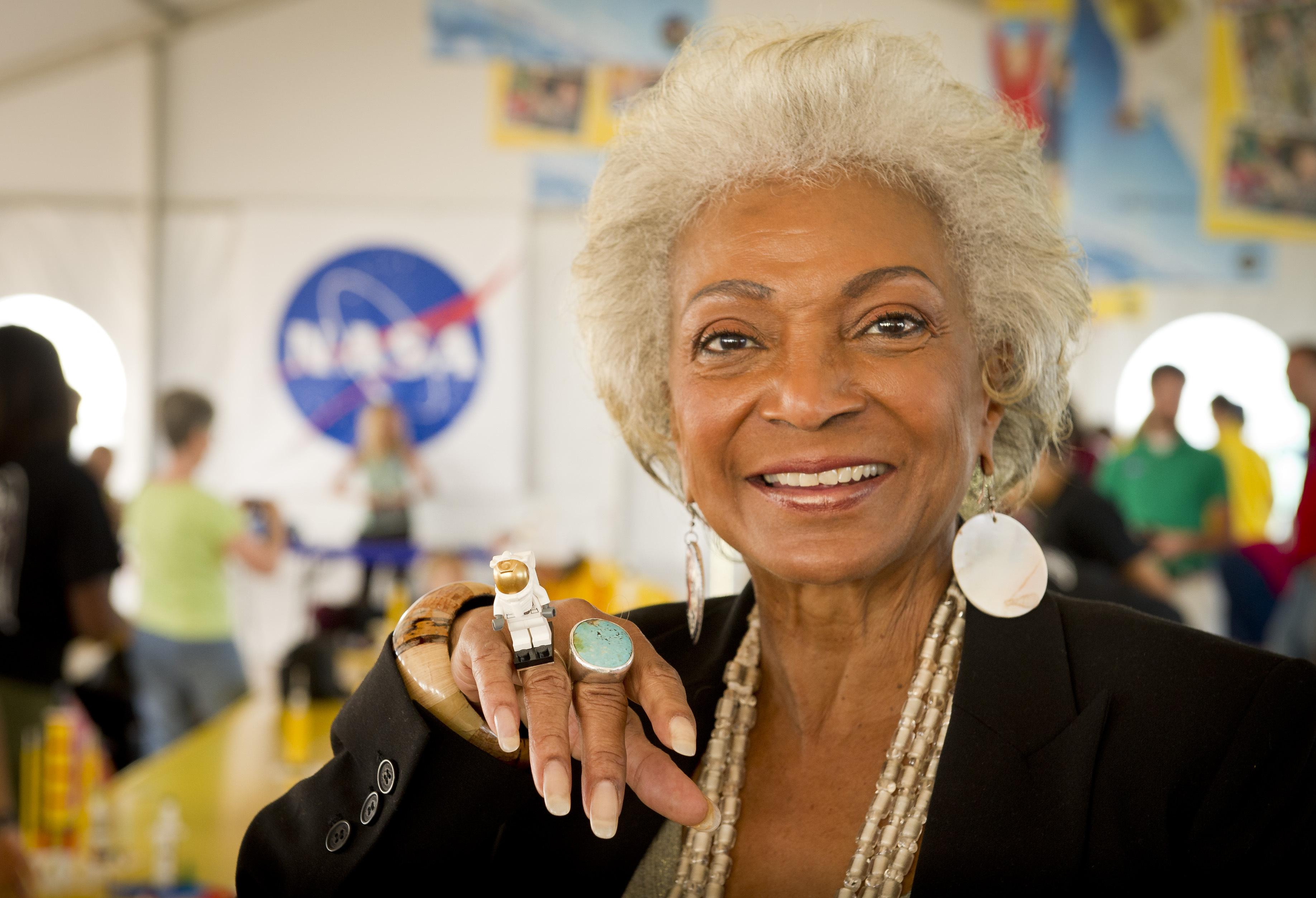 Nichelle Nichols Flies to Near Space Today