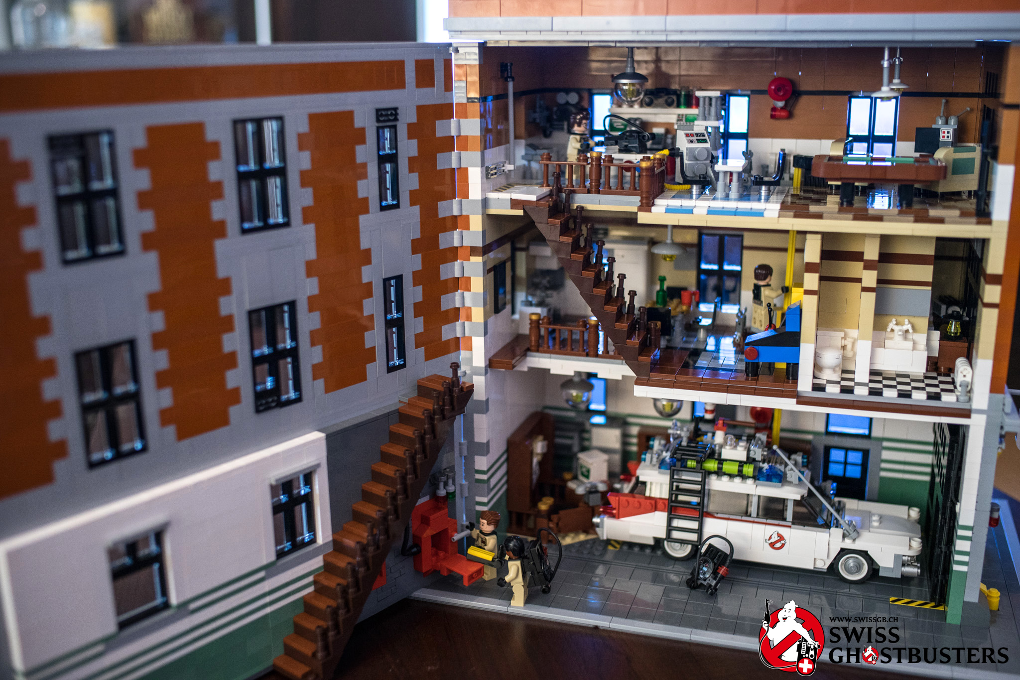LEGO Confirms Ghostbusters Firehouse Headquarters Set (75827)