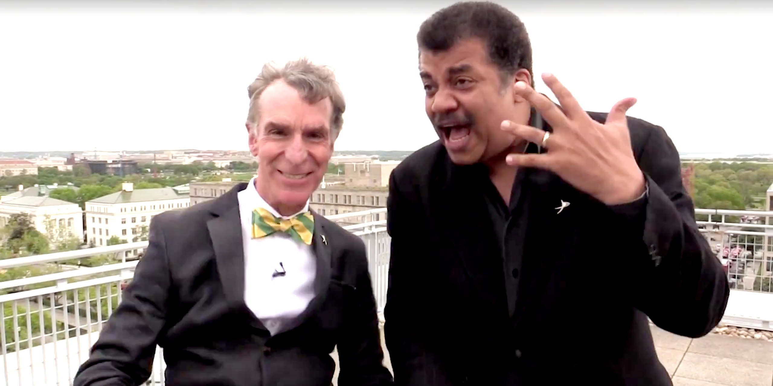 Video of the Day: Neil deGrasse Tyson, Bill Nye  in 'Beyond the Horizon'