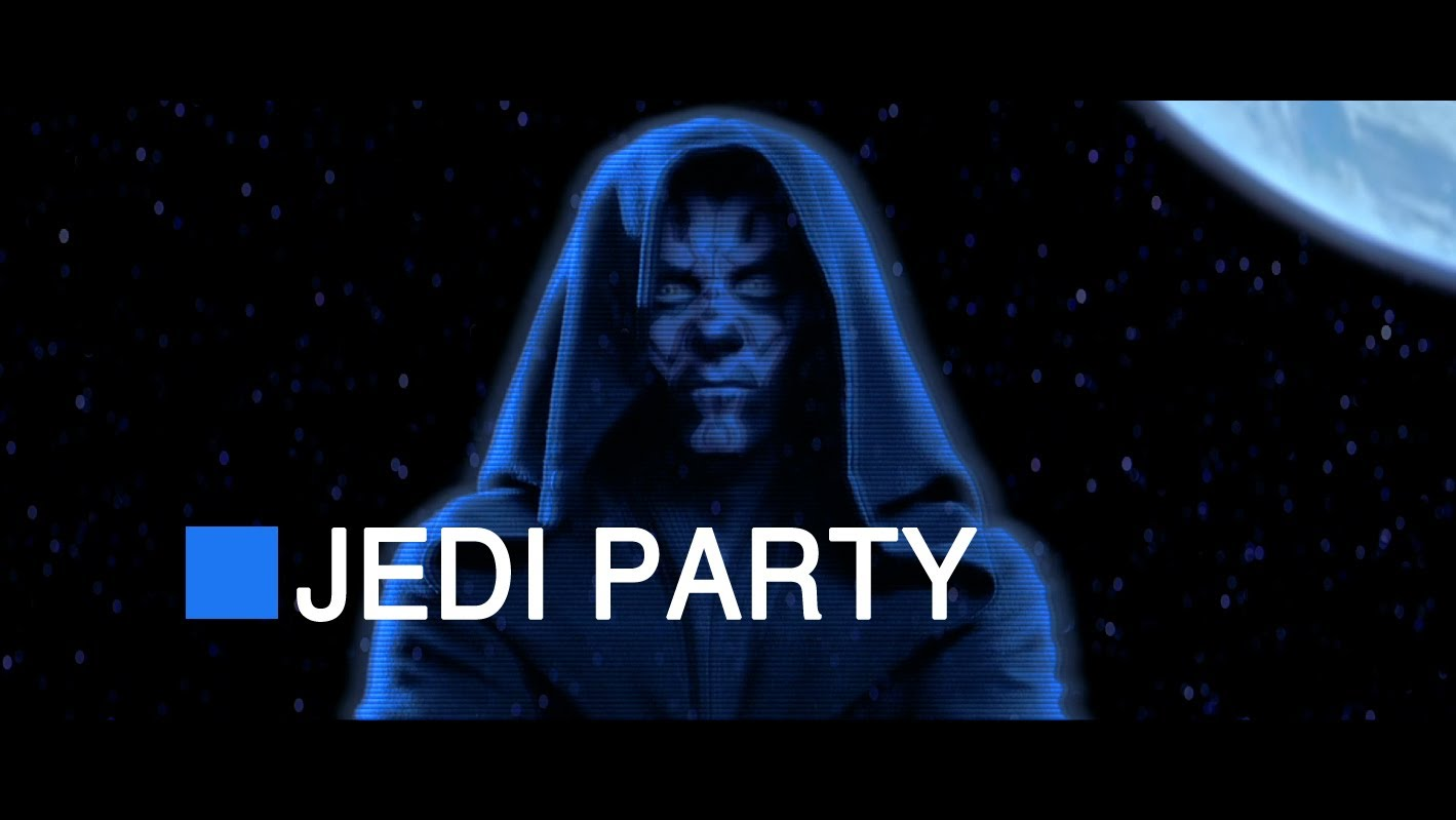 Video of the Day: 'Star Wars Ep 1: Jedi Party'
