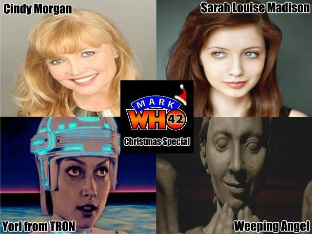 Cindy Morgan, Sarah Louise Madison on the MarkWHO42 Christmas Special!