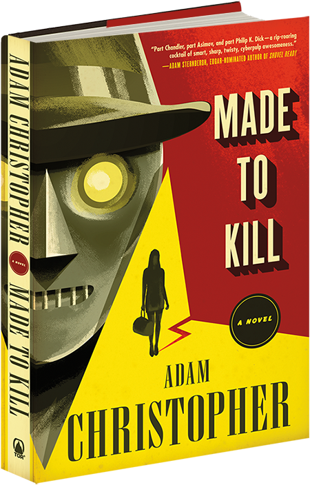 On 'The Event Horizon': Adam Christopher, Author of 'Made To Kill'