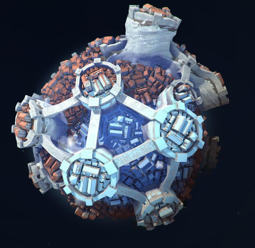 Visit (And Terraform) Oskar Stålberg's Polygonal Planet