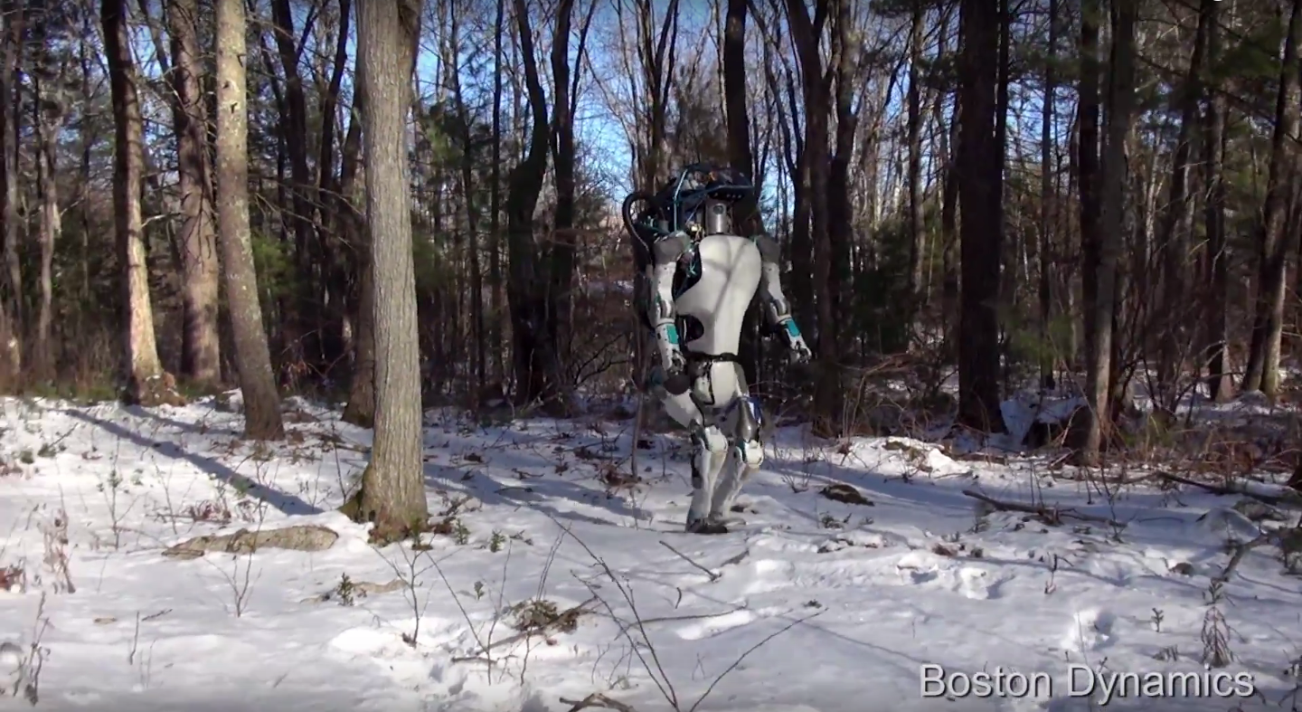 Video of the Day: Atlas, The Next Generation Robot