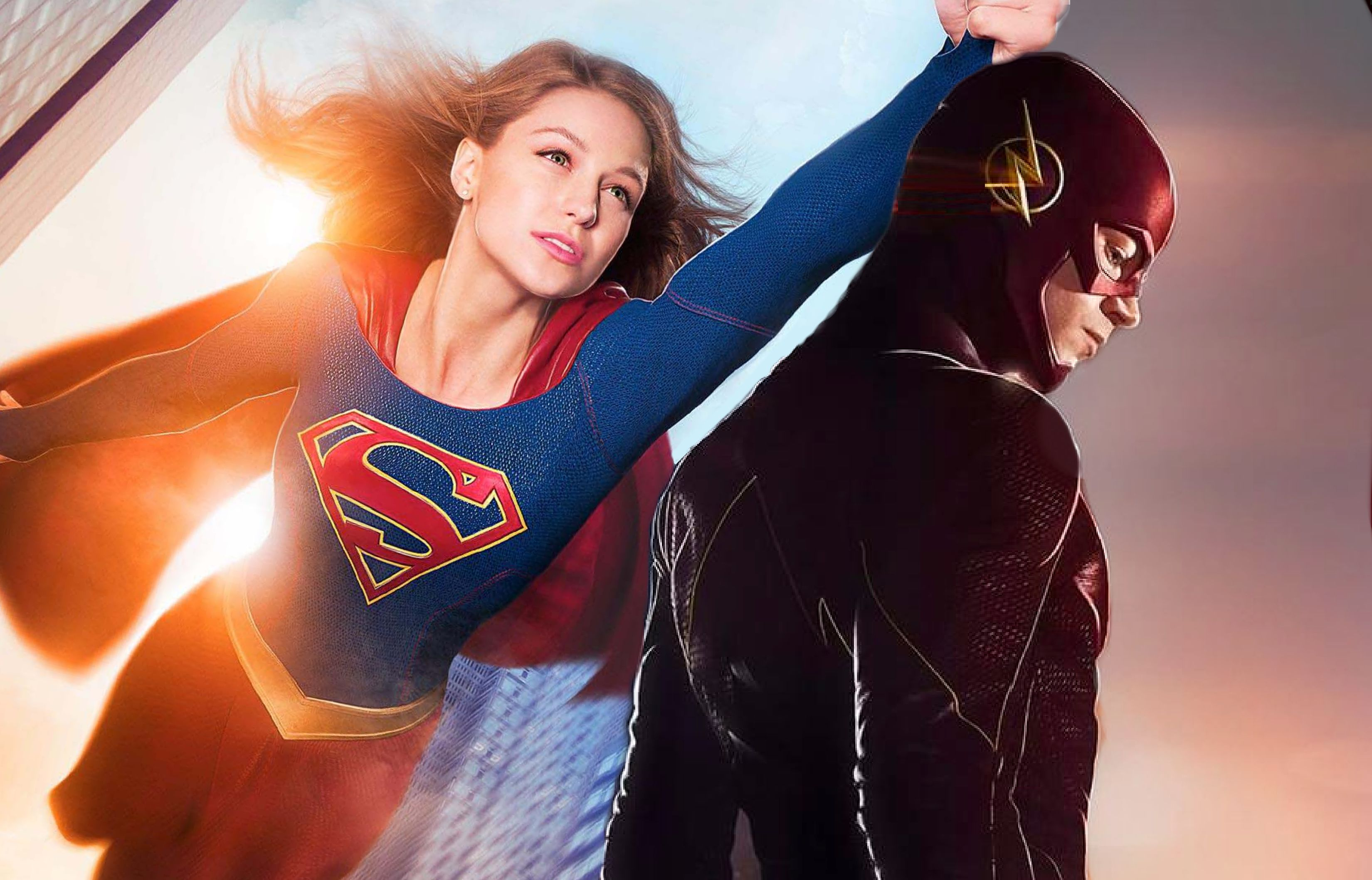 Worlds of 'Supergirl' and 'The Flash' to Crossover