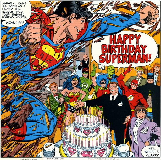Happy Birthday, Superman!